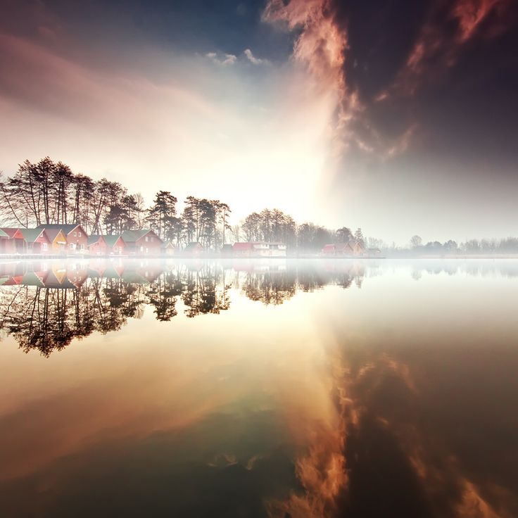 Nordic Fog /  Adam Dobrovits, via 500px: Photos, Reflection, Beautiful, Image, Landscape Photography, Landscapes, Place, Nordic Fog