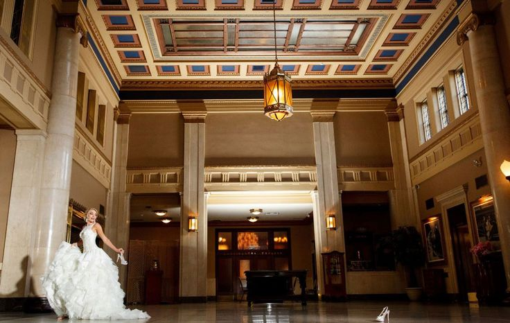 Liuna Station - Hamilton, Ontario. Stunning 1930's CN Train Station turned into a Banquet and Conference Facility.