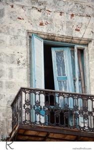 Havana balcony idea for above tasting room add shutters to make look like European window