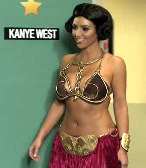 Kim Kardashian Halloween | Princess Leia | Holiday design ...