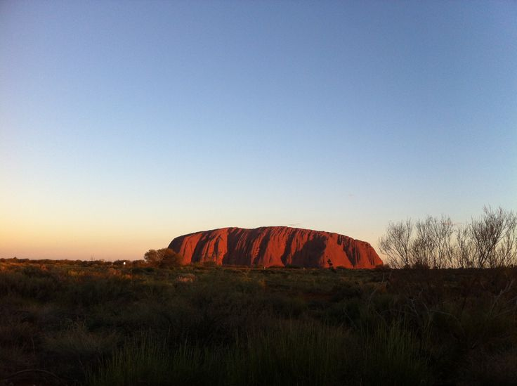 Ayers Rock/ Uluru Australia  You have to see it for yourself very beautiful !