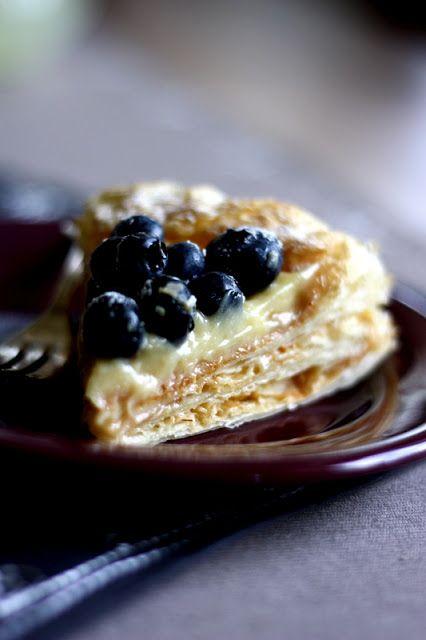 bistro mama: Ciasto francuskie z lemon curd