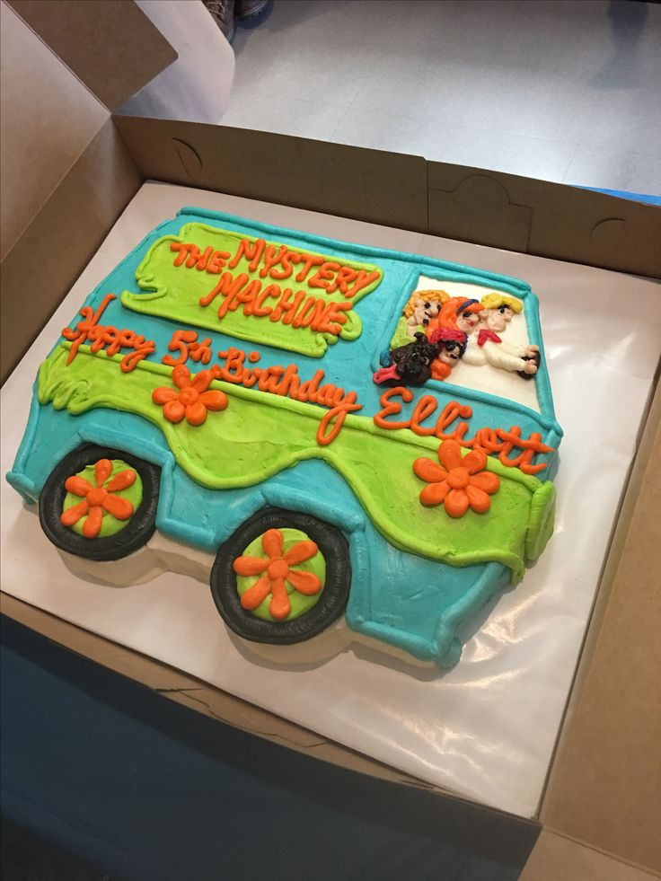 Mystery Machine Van cake - Scooby Doo