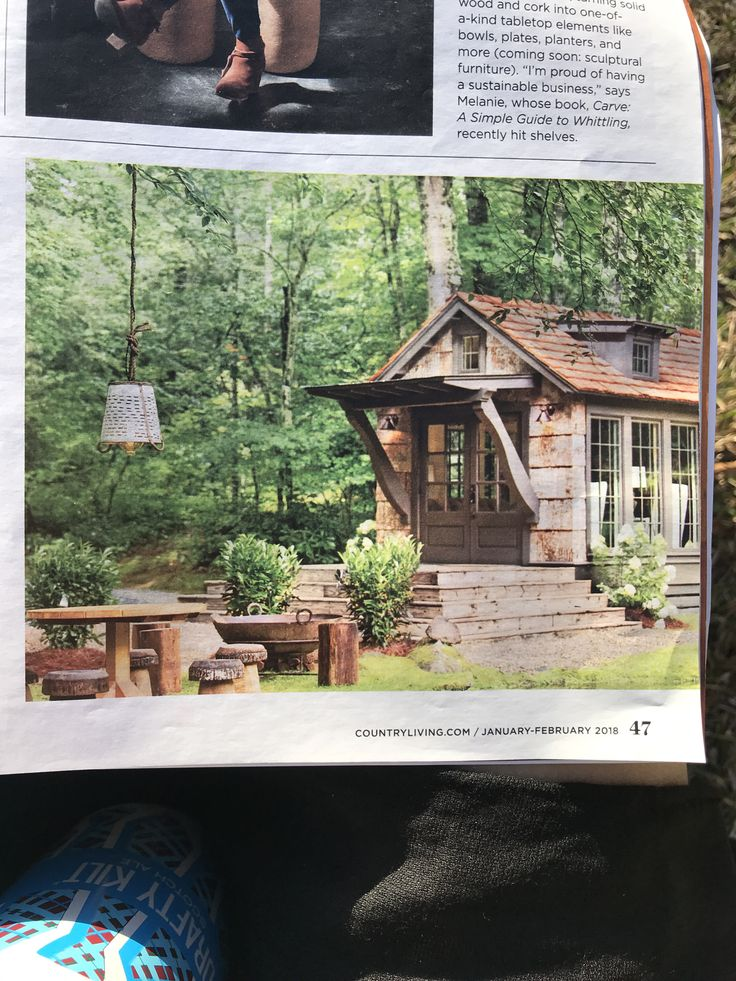 Tiny house idea for our property!   Love the outdoor space as well.   Jeffrey Dunham design