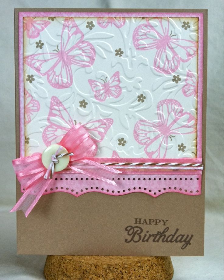 love the stamping before embossing