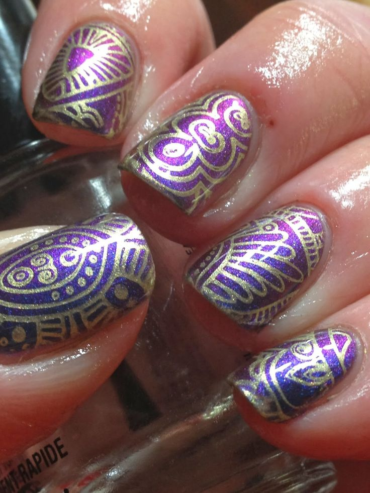 The 242 best nail stamping images on Pinterest | Nail scissors ...
