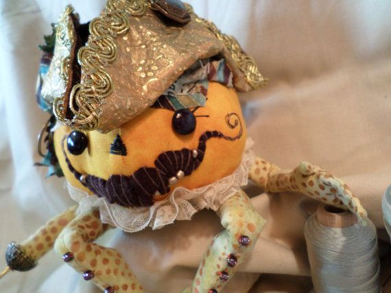 Colonel Harry Butler Follywolle OOAK Halloween by paulasdollhouse