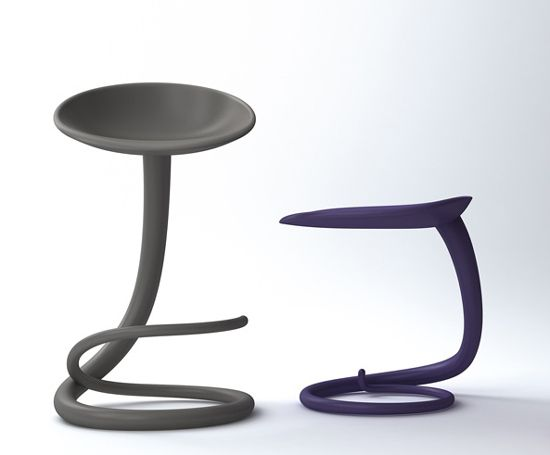 Tail unique chairs by roberto paoli modern chairs for Funky designer furniture