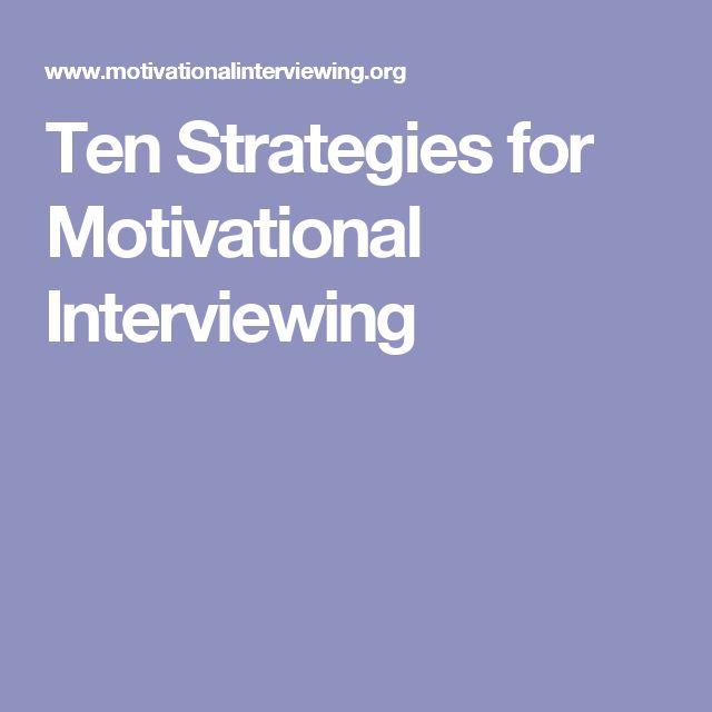 The 25+ best Motivational interviewing ideas on Pinterest ...