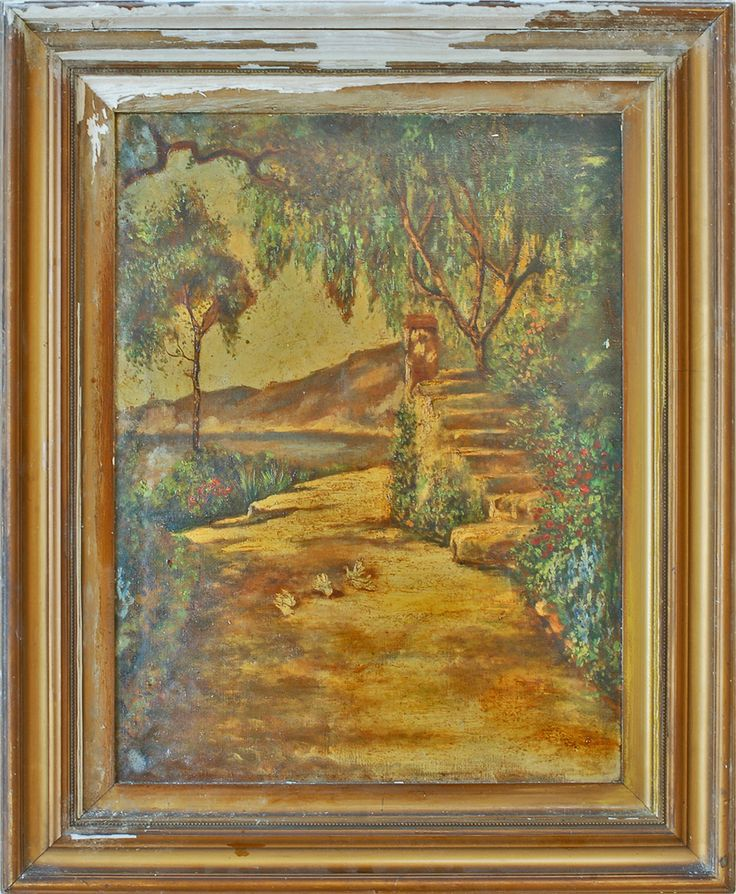 Tom Mostyn Tom Mostyn - Mediterranean Path by the Sea thomas edwin mostyn - large collection for exhibitions and sale