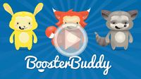 Booster Buddy - iOS & Android - sidekick guides you through quests to establish and sustain positive habits for mental health (for teens & young adults)