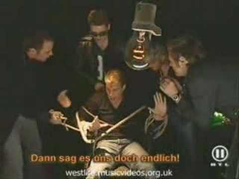 Westlife torturing Kian ;)...too freaking funny poor Ki