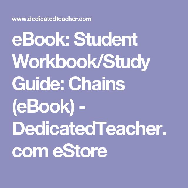 Student workbookstudy guide chains ebook fandeluxe Ebook collections