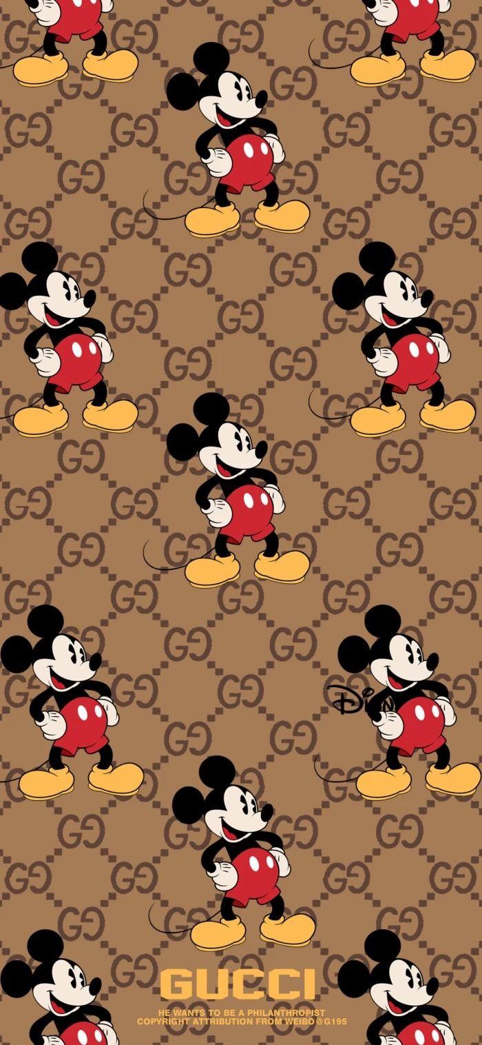 Pin By Pankeawป านแก ว On Mickey Minney In 2020 Mickey Mouse Wallpaper Mickey Mouse Wallpaper Iphone Gucci Wallpaper Iphone