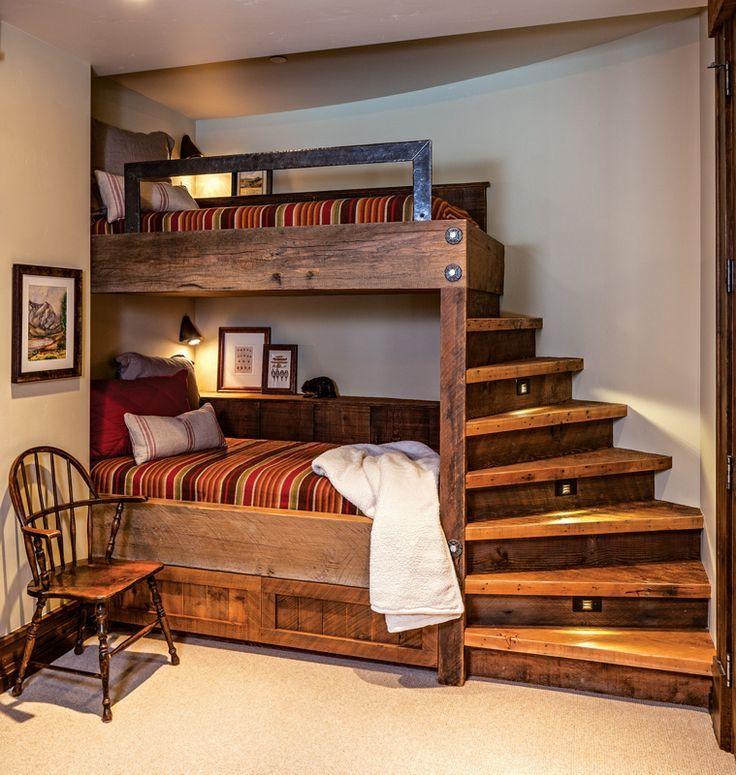 Ein Holzhaus verbindet raffiniertes Rustikales und…