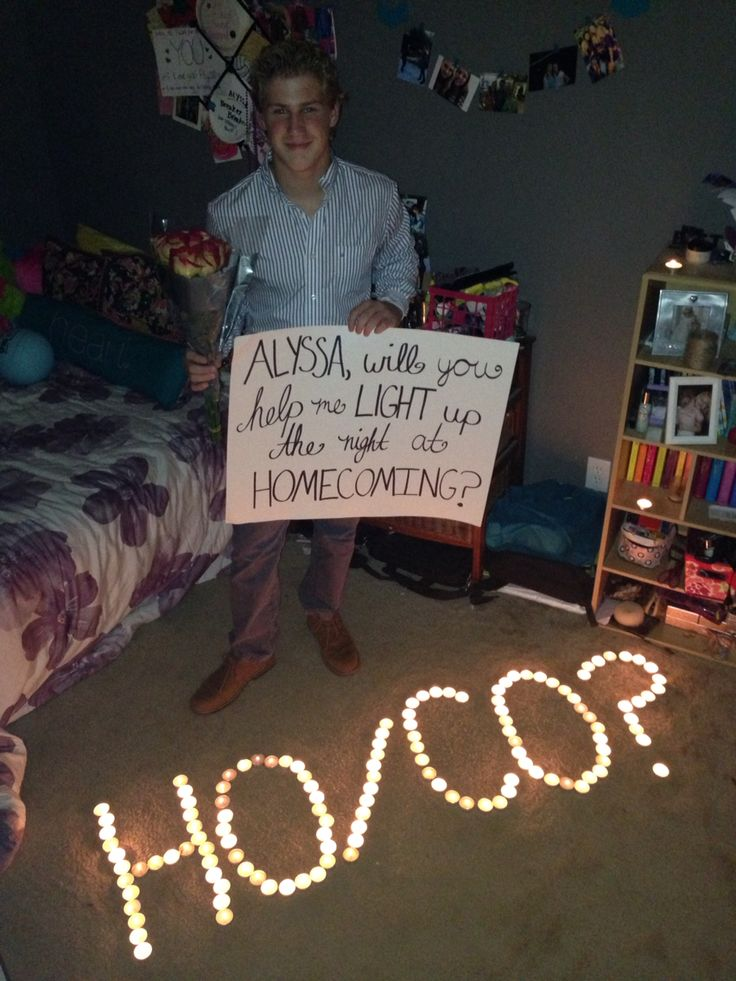 Homecoming proposal !
