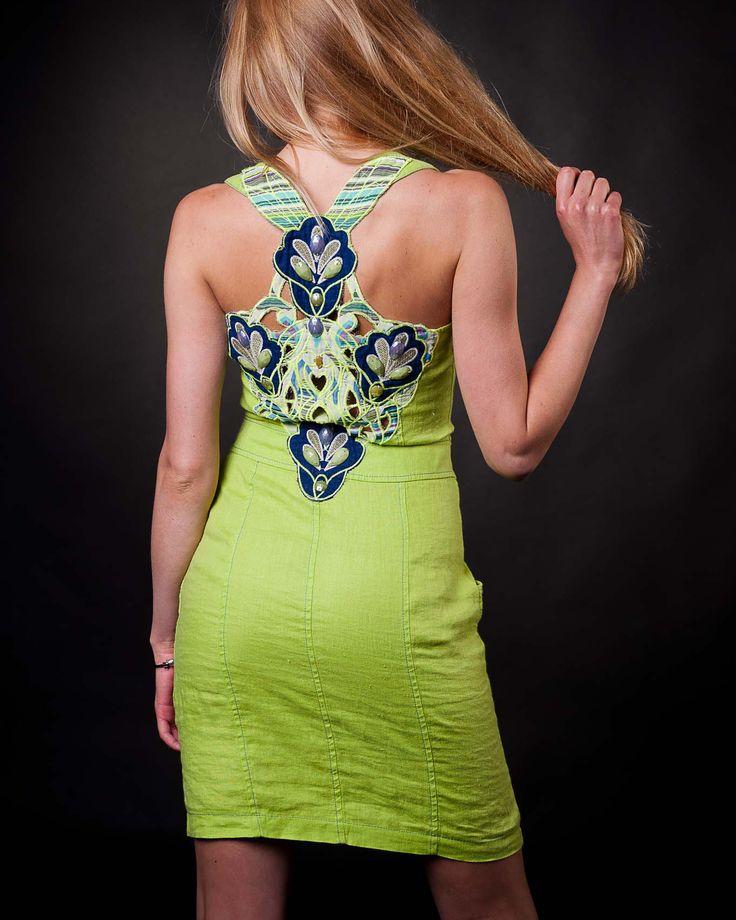 #lightgreendresses #linendresses #summerdresses #saledresses #beautydresses #pocketdresses #backdresses