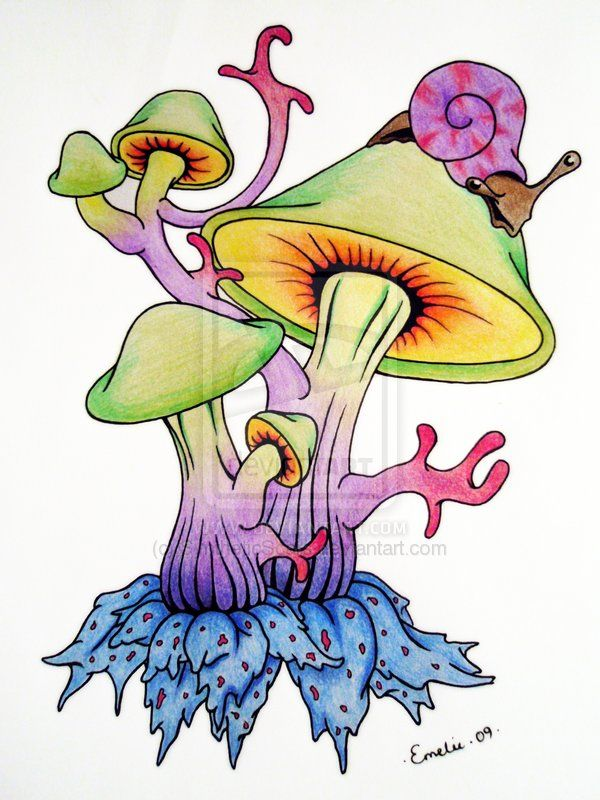 Shrooms by SyntheticScars.deviantart.com on @deviantART