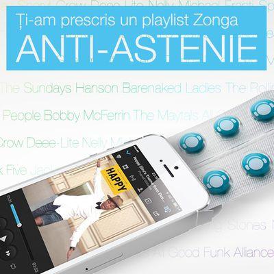 Asculta Playlistul Anti-Astenie http://www.zonga.ro/playlist/jf7tbt6s2q9cs?asculta&utm_source=pinterest&utm_medium=board&utm_campaign=playlist