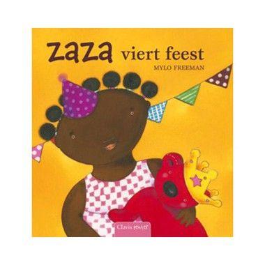 Zaza viert feest - M. Freeman  Vandaag is Roosje jarig! Zaza versiert de stoel van Roosje. En kijk daar zijn de andere knuffels al.  EUR 12.99  Meer informatie