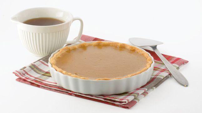 Une tarte au sirop d'érable très facile à faire!