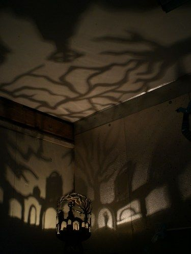 Love theses shadows Haunted Graveyard Lantern Light #365