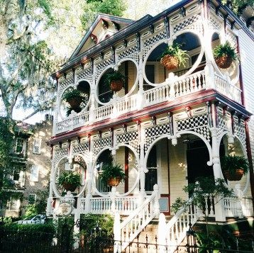 Maison victorienne Savannah                                                                                                                                                                                 Plus