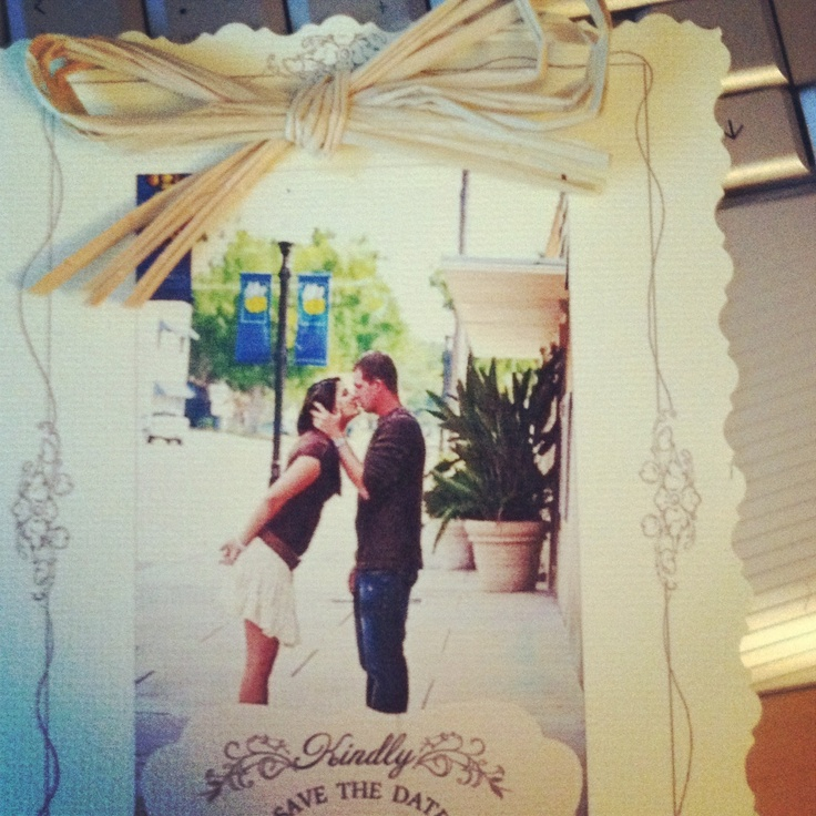 Homemade Save the Date Cards!! :) love them!!