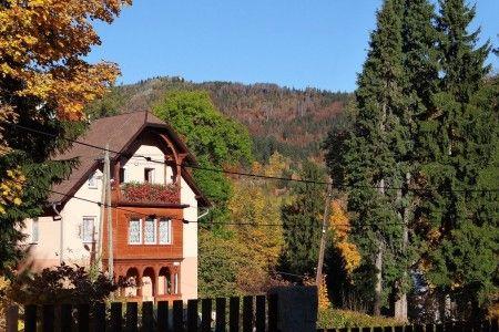 Szklarska Poręba, widok z Villa Grace