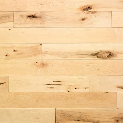 Shocked to discover I prefer that lighter flooring. Kentwood Classics 'Country Maple' flooring.