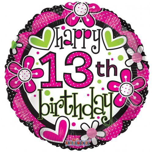 17 Best Ideas About 13th Birthday Wishes On Pinterest Happy 13 Birthday Wishes