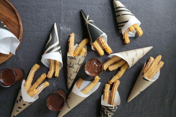 Churros con Chocolat | Oh Happy Day!