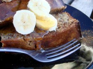 Paleo Banana French Toast.