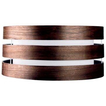 Oriel Lighting - Marakesh 20 Inch Natural 3 Tier Timber Veneer Shade