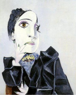 pablo picasso - dora maar with green fingernails