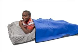 Isaac needs a weighted blanket like this so he stops burrowing in all of our beds for his sensory needs.