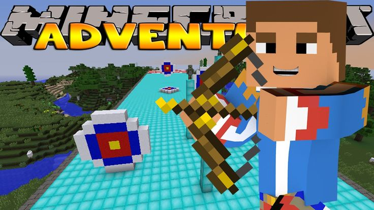 Minecraft - Little Donny Adventures - ARCHERY COMPETITION WITH ...