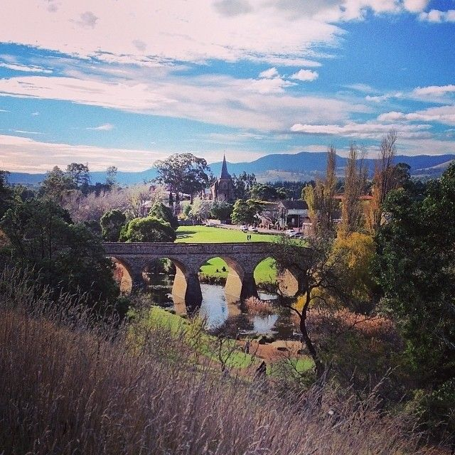 Did you know that Australia's oldest bridge is in the southern Tasmanian town of Richmond? . A picture-perfect town in the heart of the Coal River Valley wine region, Richmond tells the story of an early Australian colonial village and boasts more than 50 Georgian buildings, many beautifully restored colonial buildings that now operate as cafes, restaurants, galleries and accommodation. #discovertasmania #richmond #bridges #convicts #tasmania Image Credit: milesgray88