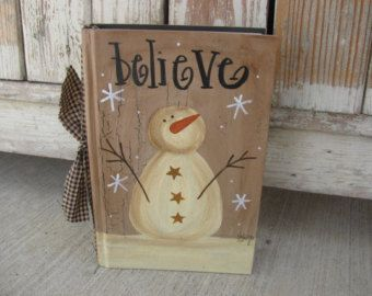 Primitive Country Personalized Santa Sign by GainersCreekCrafts