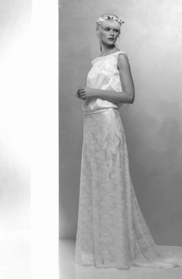 20er Jahre vintage- style Brautkleid von Hervé Mariage, Modell Margarette - gebrauchte Brautkleider Stuttgart - brautkleider-gebraucht.org