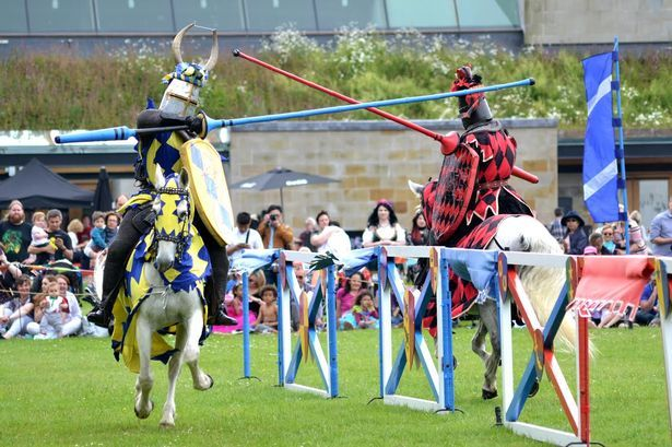 Haven't quite had your fill of all the jousting just yet? This weekend take a trip to Cardiff Castle for more!