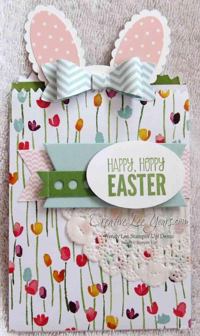 263 best stampin up easter images on pinterest easter treat box bunny gift card holder by wendy lee creativeleeyours stampin up negle Image collections