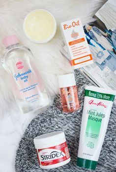 Best drugstore skincare products.  Bio oil for acne scars? Stridex to replace alcohol ones I have now.