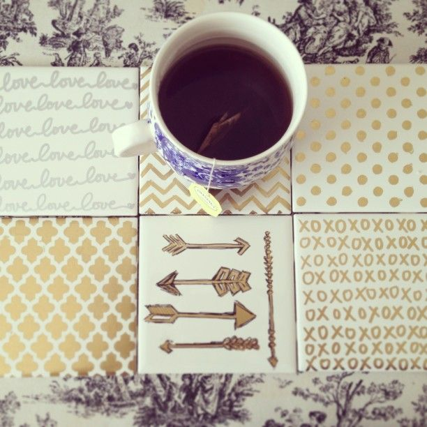How to Make Affordable and Adorable DIY Coasters