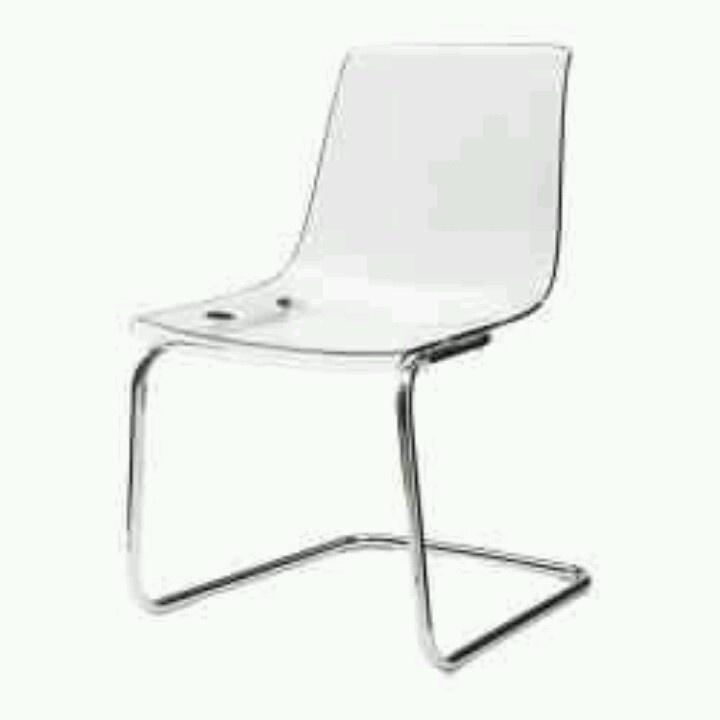 Ikea Tobias Ghost Chair Home Pinterest