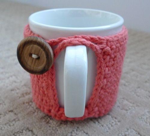 Вяжем чехол для чашки