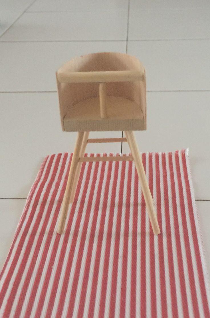 Miniature high chair.