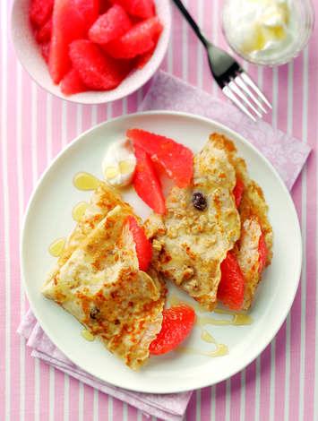 Granola Pancakes   Shake Up Your Wake Up
