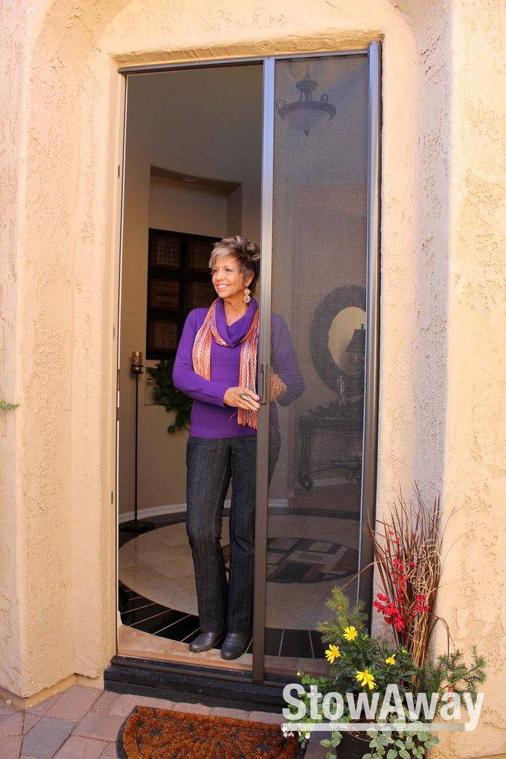 Best 25 retractable screens ideas on pinterest for Single french door with screen