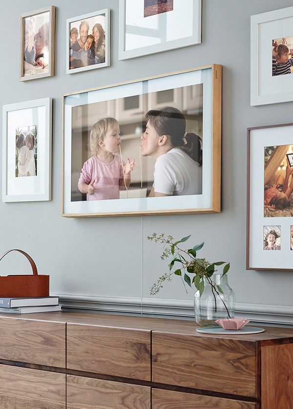 The Frame Tv Framed Tv Frames On Wall Gallery Wall